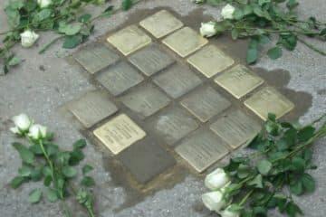 stolpersteine de gunter demnig memorial décentralisé sur toute l'Europe